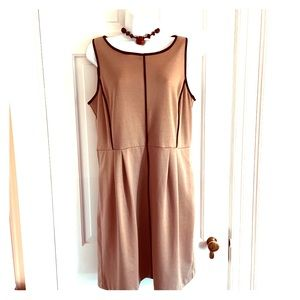 Apt 9 tan & black dress large